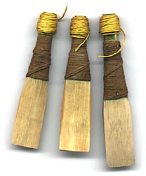Replica of Andrew Ross Patent Reeds