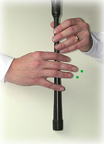 bagpipe finger chart C