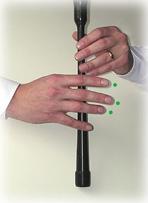 bagpipe finger chart D